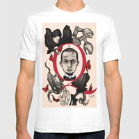 GOD SAVE ALEXANDER MCQUEEN Mens Fitted Tee White SMALL