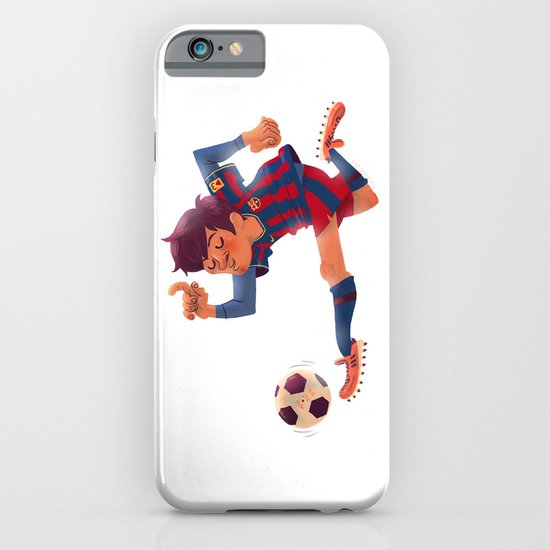 Lionel Messi, Barcelona Jersey iPhone & iPod Case