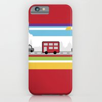 iPhone & iPod Case featuring City travel by Faye Brown Designs