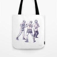 Freud, Jung, And Watts, … Tote Bag