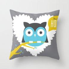 You're a Hoot Throw Pillow
