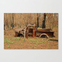 Lost Truck Canvas Print