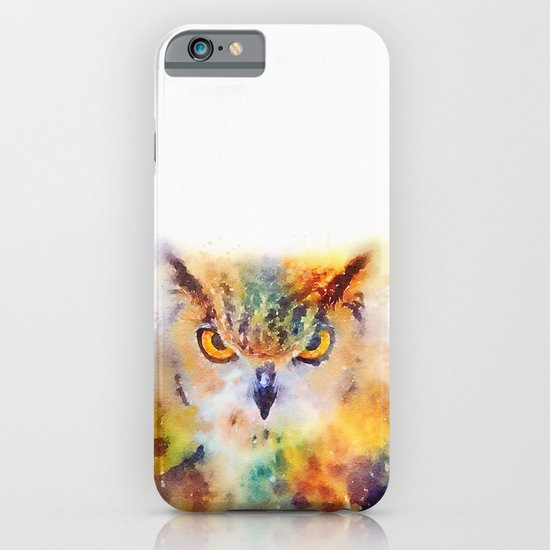 The Wise - Owl iPhone & iPod Case