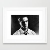Norton Framed Art Print