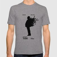 The Birds Mens Fitted Tee Tri-Grey SMALL