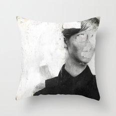 Faceless | number 01 Throw Pillow
