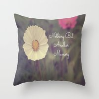 Nothing But Another Memo… Throw Pillow