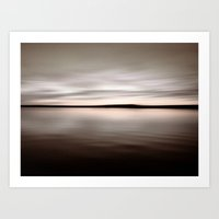 Horizont Art Print
