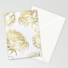 Roses Gold Stationery Cards