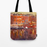 Night In Venice Part 3 Tote Bag