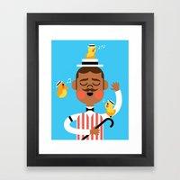 Barbershop Quartet Framed Art Print