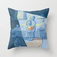 Grandma and Me Throw Pillow