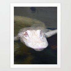 Ghost Gator Art Print