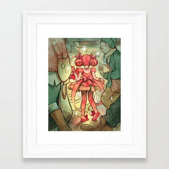 Mahou Subway Framed Art Print
