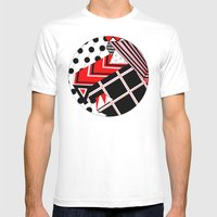 Circle Iii Mens Fitted Tee White SMALL