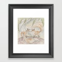 Fox [[ 2 ]] Framed Art Print