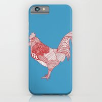 iPhone & iPod Case featuring Redcock by lush tart