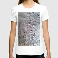 Reflect - Broken Mirror Mosaic Womens Fitted Tee White SMALL