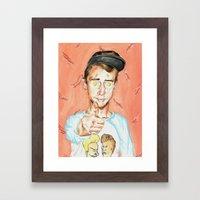 Get Fried Framed Art Print