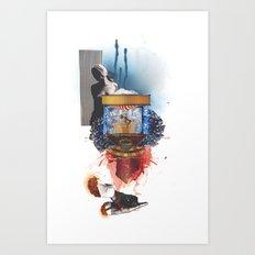 Mingadigm   Stolen Art Print