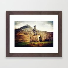 Highland Bothy Framed Art Print