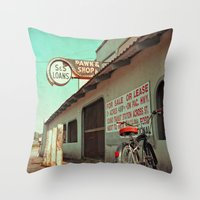 Once a pawn shop Throw Pillow