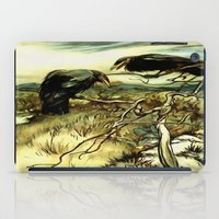 The Two Crows iPad Case