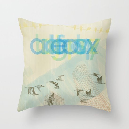 eox Throw Pillow