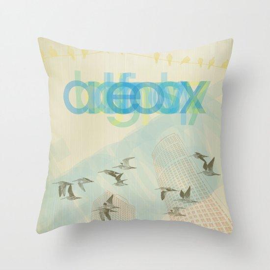 eox Throw Pillow