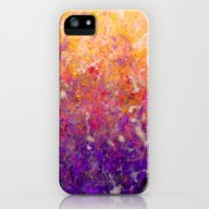 Abstract Art In Sunset P… iPhone (5, 5s) Slim Case