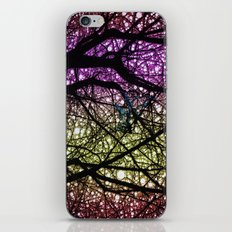 Ribbon in a Tree-Colourful Version iPhone & iPod Skin