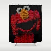 ELMO Shower Curtain