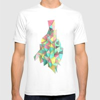 Origami II Mens Fitted Tee White SMALL
