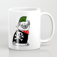Pug Rock Mug