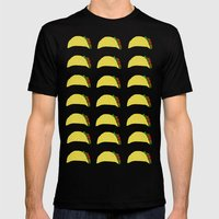 Tacos for Days Mens Fitted Tee Black SMALL