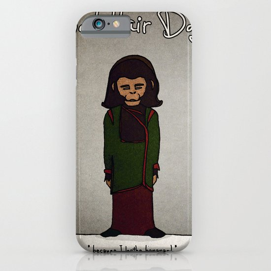 bad hair day no:1 / Planet of the Apes iPhone & iPod Case