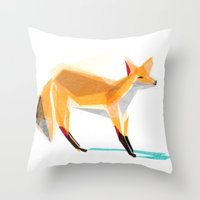 Felix Fox Throw Pillow
