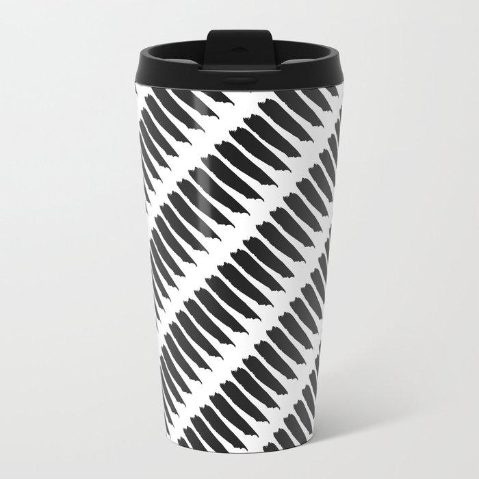 Black and white tiger stripes travel mug by pencil me in - Tiger stripes black and white ...