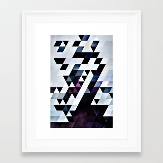 MODYRN LYKQUYR Framed Art Print