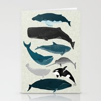 Whales And Porpoises Sea… Stationery Cards