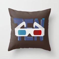 'Ten' - Doctor Who Tenth Doctor design Throw Pillow