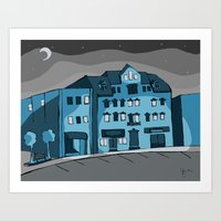 Jimmy Jazz Guelph Art Print