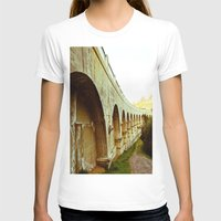 Hollywood Reservoir Womens Fitted Tee White SMALL