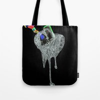 NEGATIVE HEARTACHE AHEAD Tote Bag