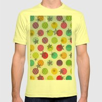 Such A Star! Mens Fitted Tee Lemon SMALL