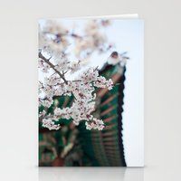 Blossoms Near The Bell, … Stationery Cards