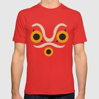 Princess Mononoke  Mens Fitted Tee Red SMALL