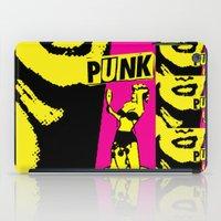 Punky Chic! iPad Case