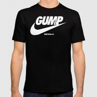 Gump- JustDoIt Mens Fitted Tee Black SMALL