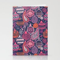 Bohemian Christmas Stationery Cards
